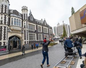 Dunedin's Victorian and Edwardian architecture provides an entrancing backdrop for films such as...
