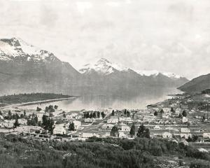 Lake Wakatipu and Queenstown circa 1895. PHOTO: GETTY IMAGES