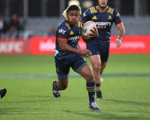 Folau Fakatava started as halfback against the Crusaders in Christchurch last week. Photo: Getty...