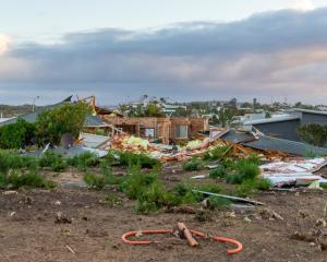 Damaged buildings are seen in Kalbarri after Cyclone Seroja hit the area. Photo: Getty Images