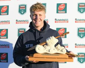 Highlanders U20 captain Sean Withy was named player of the tournament. Photo: Getty Images