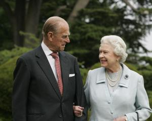 Prince Philip and Queen Elizabeth II on their diamond wedding anniversary in 2007. Photo: Getty...