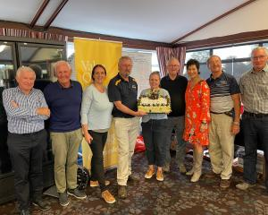 The Cholmondeley Charity Golf Classic was organised and run by Riccarton Rotary. Photo:...