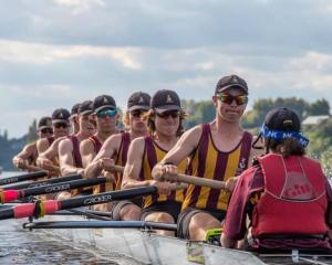 Cashmere High School created history by contesting the Maadi Cup's blue ribbon boys' eights A...