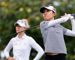 Lydia Ko during the final round of the e LPGA LOTTE Championship in Hawaii. Photo: Getty Images