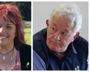 Anna Osborne and Bernie Monk. Photo: RNZ
