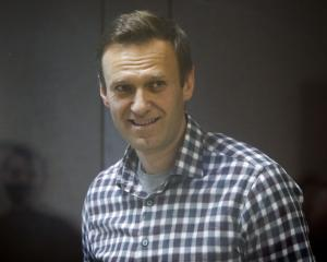 Russian opposition leader Alexei Navalny in February this year. Photo: Reuters