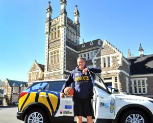 Otago Nuggets coach Brent Matehaere reflects on the season ahead at the Otago Boys' High School...