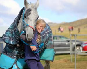 Isla Mutch (11), of Taranaki, and her horse Moondance  will compete in the 120km junior event of...