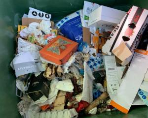 General waste has been dumped among recycling at the Enfield Recycling Centre again. PHOTOS:...
