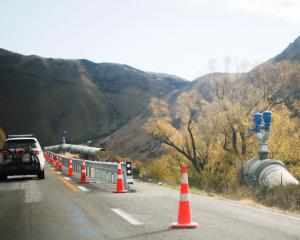 Work to move a section of the Kurow-Duntroon Irrigation Company pipeline below road level is now...