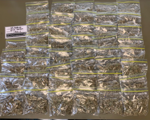 Bags of cannabis which were seized by police. Photo: Supplied