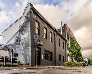 Vogel St Kitchen, which is on the market, features the work of street artist Phlegm. PHOTO: NICK...