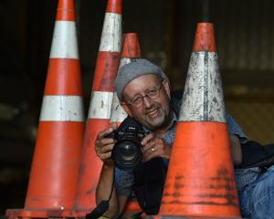 Dunedin cameraman and film-maker Ray Collins is thrilled after footage from one of his...