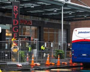 Rydges Hotel managed isolation facility in Auckland. Photo: RNZ