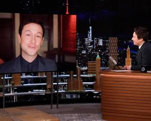 Actor Joseph Gordon-Levitt told Jimmy Fallon how lucky he feels to live in New Zealand. Photo:...