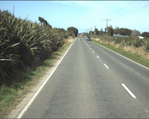 State Highway 99 north of Te Waewae Bay. Photo: NZTA