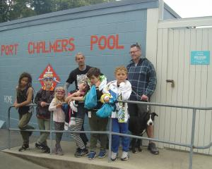 Port Chalmers Pool users, who would like to see the pool's season extended through the school...