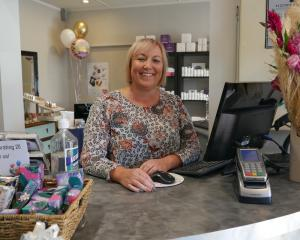Vibe Hair & Skin Therapy owner Vicki Woodrow bought the salon 20 years ago this week. PHOTO:...