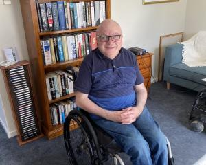 Dunedin disability advocate Chris Ford is delighted to finally have moved into an accessible...