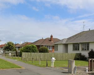 State houses in north Invercargill. Photo by Allison Beckham