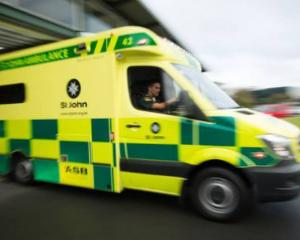 Patients are being forced to wait in the back of an ambulance after arriving at some hospital...