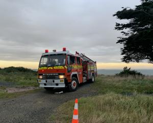 Fire and Emergency New Zealand crews were called to the scene of the blaze in Omaui Rd,...