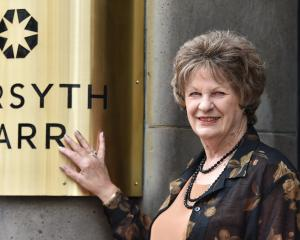 After 60 years, Val Braumann considers the people of Forsyth Barr Ltd to be family. PHOTO: GREGOR...