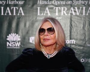 Carla Zampatti at the opening of opera La Traviata in Sydney on March 26.  Photo: Getty Images
