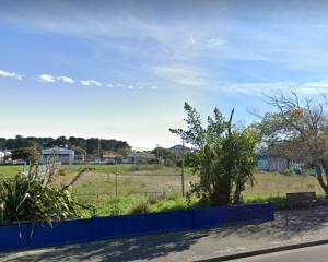 A developer will build 65 new homes on the old Central New Brighton School site. Photo: Newsline
