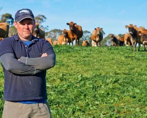 South Canterbury farmer, Ben Smith.