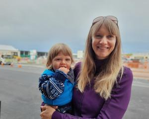 Health coach Katie Charlton and Max are enjoying life in Ashburton. Photo: Supplied
