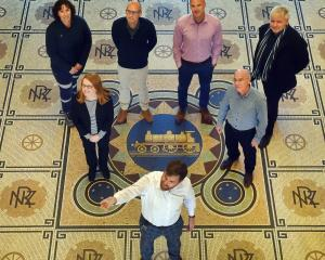 Facility managers from a variety of Otago-based organisations enjoy the heritage atmosphere in...