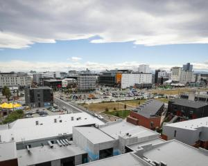 A view over Christchurch from earlier this year. Photo: RNZ / Nate McKinnon