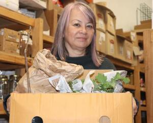 Jacky Braid of Havelock North decided she had to collect plants for Wang because it felt personal...