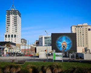 The Christchurch CBD. Photo: RNZ / Alexander Robertson