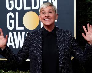 Daytime talk shot host Ellen DeGeneres. Photo: Reuters