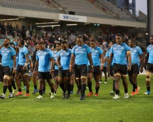 Fiji Drua players leave the field after a game in Australia NRC. Photo: Getty Images