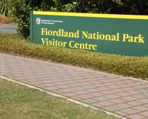 Fiordland National Park visitor centre, Te Anau. Photo Supplied