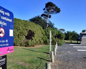 The dunedin City Council provides places for freedom campers to stay, including at Ocean View....