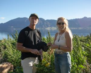 Protection of the environment has been a long-standing passion for Geoff and Justine Ross. PHOTO:...