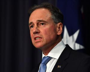 Australian Health Minister Greg Hunt. Photo: Getty