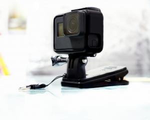 The activity he captured was stored in the GoPro's memory card which was then streamed to his...