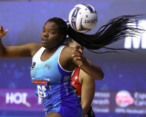 Grace Nweke scored a late goal to give the Northern Mystics a win over the Mainland Tactix. Photo...