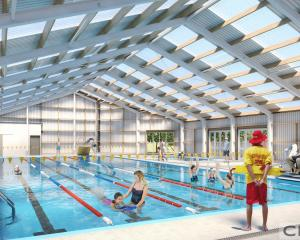 An artist's impression of the revamped pool. Image: Hurunui District Council