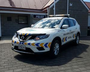The Malvern Community Patrol is fundraising for a new vehicle. Photo: Supplied