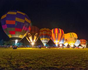 The festival's trademark night glow promises to be a highlight. Photo: Supplied