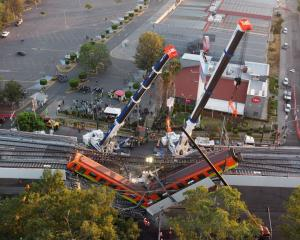 Mexico City's newest metro line collapsed on Tuesday, sending a train plunging onto a busy road...