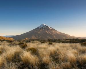 A search and rescue operation began after police were told a climber had fallen on Mt Taranaki...