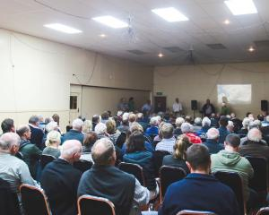 More than 120 people attended a public meeting at Weston Hall on Tuesday night to discuss the...